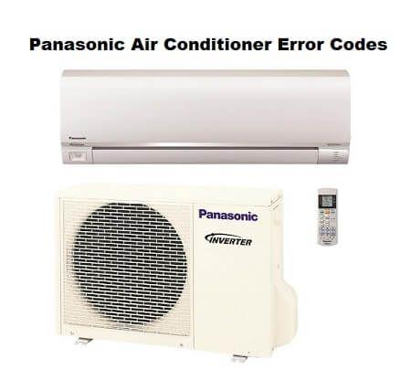 Panasonic Air Conditioner Error Codes Panasonic Air Conditioner Error Code Coding