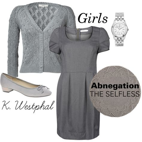 Abnegation clothes for girls