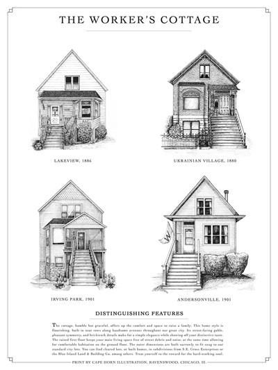 The Worker S Cottage Architecture Classic House House Styles