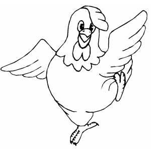 Dancing Chicken Printable Coloring Page Free To Download And Print Bird Coloring Pages Chicken Coloring Chicken Coloring Pages
