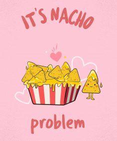 It S National Nacho Day Poster Design Nachos Art For Kids