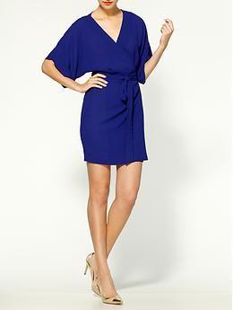 Ark & Co. Short Sleeve Wrap Dress   Piperlime