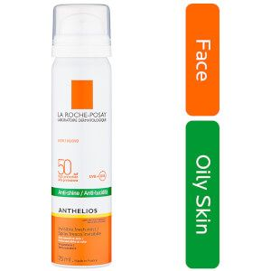 anthelios invisible face mist spf 50