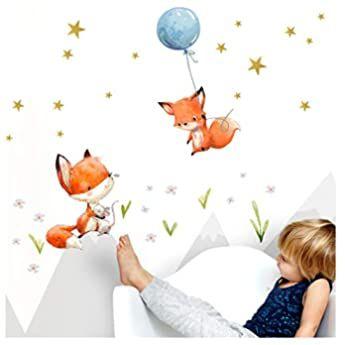 Little Deco Kinderzimmer Wandtattoo Fuchs Spruch Fliege Zum Gluck I 87 X 50 Cm Bxh I Luf In 2020 Wandtattoo Kinderzimmer Wandtattoo Kinderzimmer Tiere Kinderzimmer