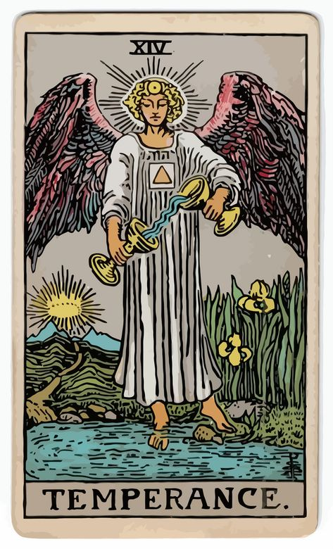 14 - Temperance Art Print by Perfect - X-Small