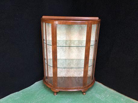 Vitrine Anglaise Art Deco Buffet Vitrine Artdeco Vintagefurniture Vintage Art Deco Deco Vitrine