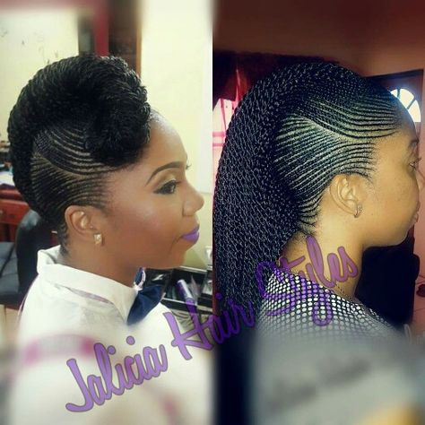 Stunning! I wonder how long this takes?! #BlackHairstyles