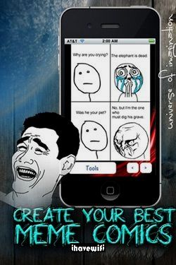 Pin By Ihavewifi On Gaming Memes Iphone Apps Make Your Own Meme Iphone Games