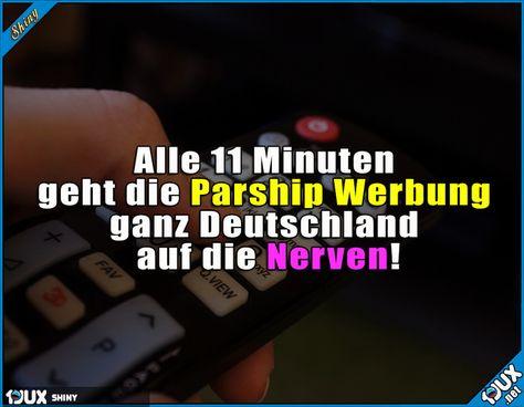 Werbung neu parship Neue Parship