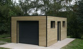 Garage Ossature Bois Toit Plat Epdm Garage Bois Toit Plat Construire Un Garage Toit Plat