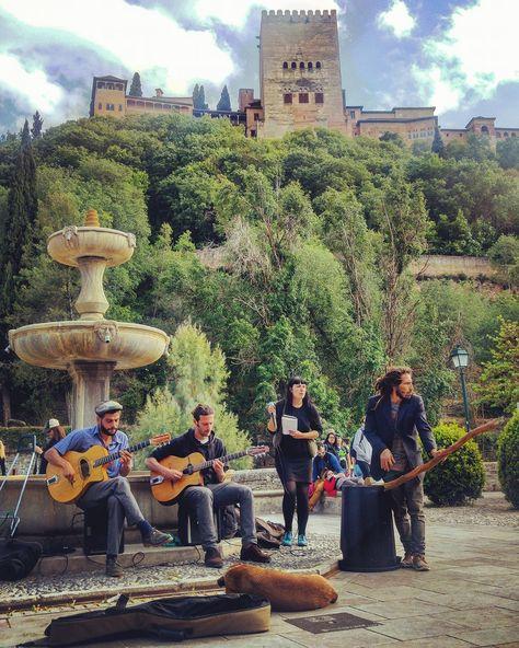 La foto que une arte y belleza en Granada | El Bolardo