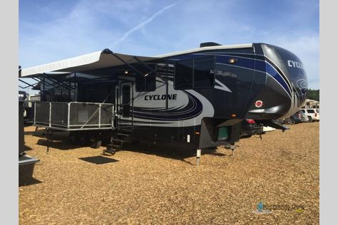 New 2017 Heartland Cyclone 4200 Toy Hauler Fifth Wheel At Big Daddy Rvs On Order London Ky 4200 Toy Hauler Fifth Wheel Toys
