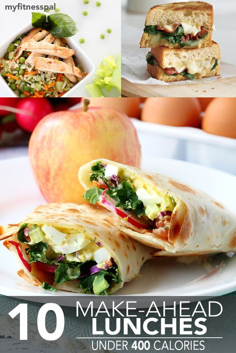 Never go to work unprepared again, with 10 simple make-ahead lunch recipes.
