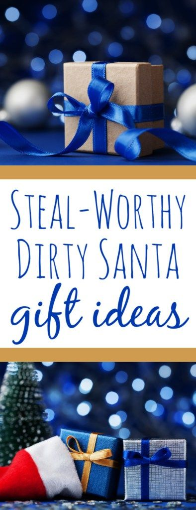 We're sharing our favorite, amazing Dirty Santa gift ideas for your exchange that almost everyone will love and guaranteed to be stolen multiple times! #DirtySanta #YankeeSwap #GiftIdeas #BudgetGifts
