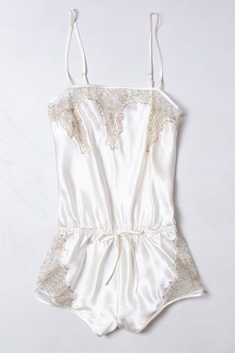 La Fee Verte Coralie Romper, $140, available at Anthropologie.