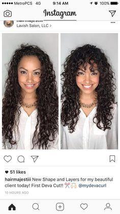 Lockiges Haar Sieht Aus Frisuren 2019 Lockige Haare Lockige Haare Schneiden Langhaarfrisuren