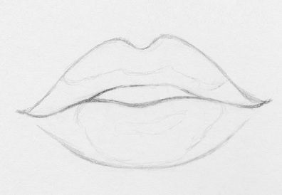 How To Draw Lips 10 Easy Steps Drawing Lips Drawings Art