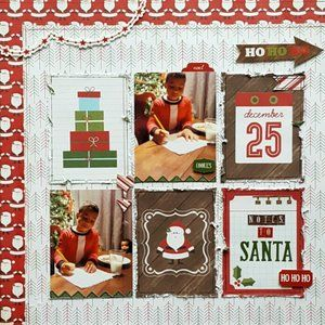 A Christmas Story Scrapbook Page Kit