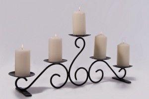Penton Hall Beautiful Table Top Or Hearth Candelabra Con