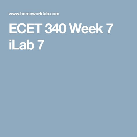 netwk 320 week 7 i lab Netw 320 week 1 ilab every question in the lab ilab 6 of 7: codec selection for campus network - part 2 required lab questions for netw 320.