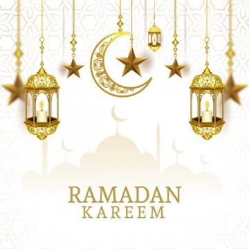 خلفية رمضان مع المسجد الذهبي والفوانيس العربية الذهب رمضان عربي Png والمتجهات للتحميل مجانا Ramadan Background Ramadan Frame Border Design