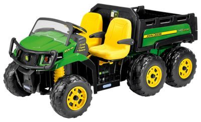 John Deere Ride On Toys >> Peg Perego John Deere Gator Xuv 6x4 Ride On Toy For Kids Products