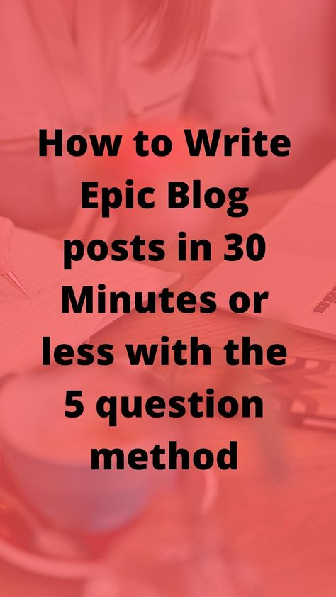 How to write Epic blog post