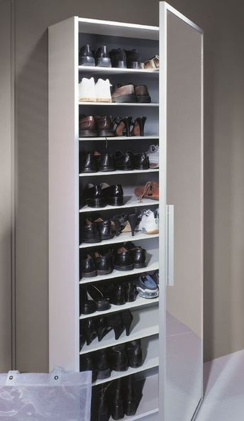 Genial Schuhschrank Spiegeltur Muebles Para Guardar Zapatos