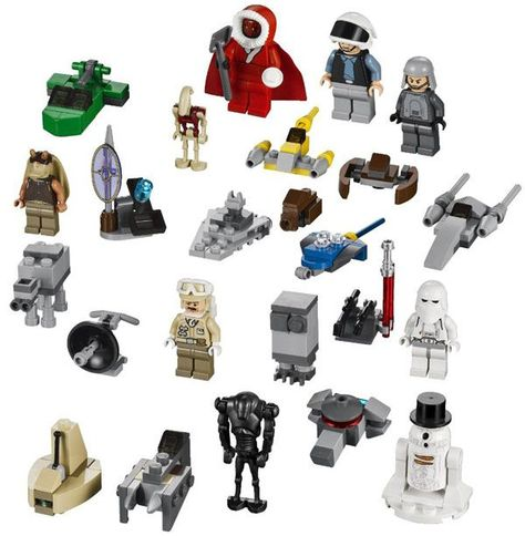 Lego Friends Calendrier De L Avent.Le Calendrier De L Avent Lego Star Wars De 2012 Est La