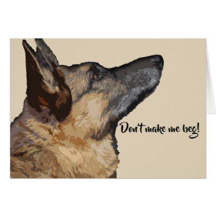 Cute Fun German Shepherd Valentine S Day Card Zazzle Com