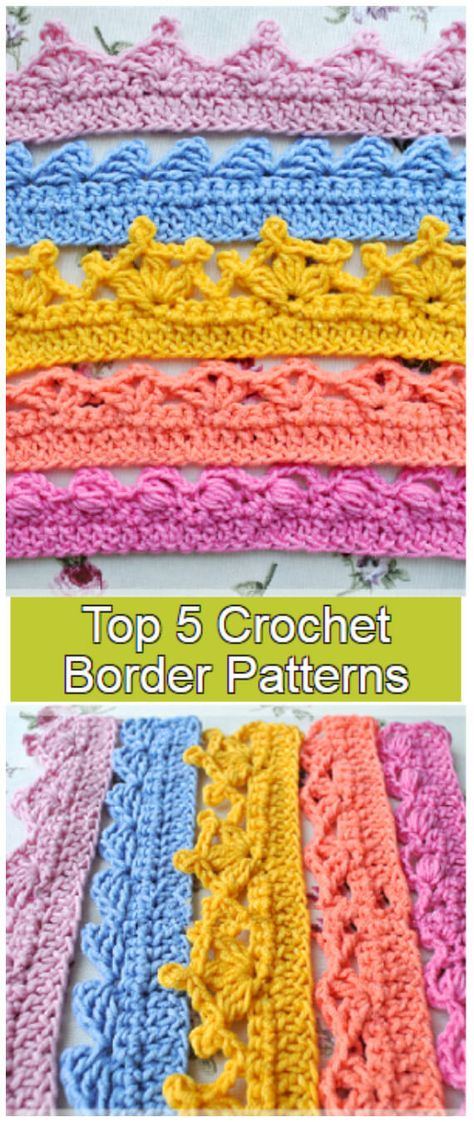 Crochet Border Patterns, Crochet Blanket Border, Crochet Bedspread, Crochet Lace Edging, Crochet Diagram, Stitch Patterns, Filet Crochet, Crochet Edgings, Crochet Edging Tutorial