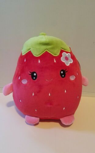 Squishmallow Kellytoy 8 Suzy Strawberry Fruit Scented Plush Ebay Fruit Scent Strawberry Fruit Strawberry