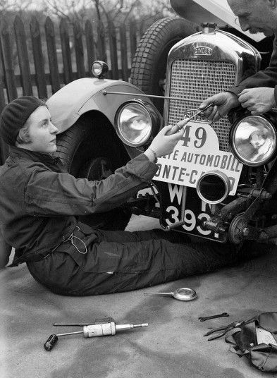 female race car drivers 1920s