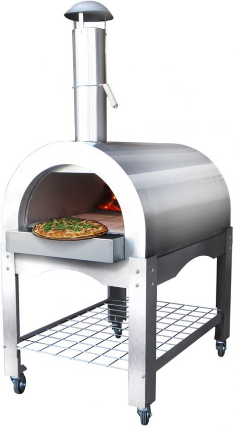 Stainless Steel Woodfired Pizza Oven Hornos Para Pizzas Horno Para Pizza Hornos Caseros