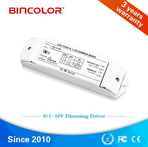 Bc 331 10a 1 10v 1 Channel Fluorescent Lamps Dimmer 0 10v Led Lamp Dimming Driver Get Free Shipping H Lamp Dimmer Switch Floor Lamp Dimmer Fluorescent Bulb