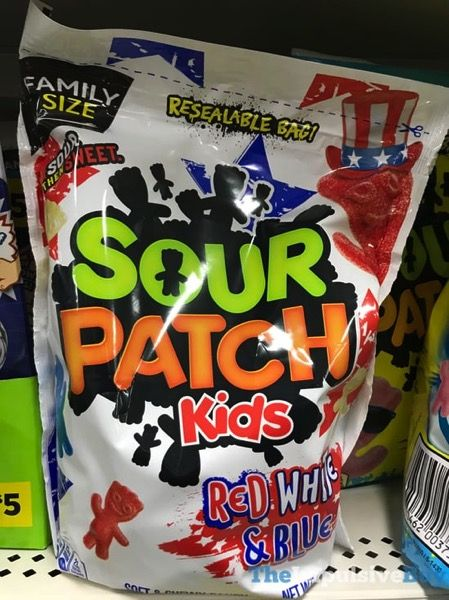 Spotted On Shelves Sour Patch Kids Red White Blue Sour Patch Kids Sour Patch Sour Candy