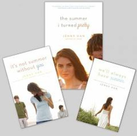 The Summer Trilogy. Full of love, drama, and unexpected twists.  -The Summer I turned Pretty -Is not Summer Without You -We'll Always Have Summer