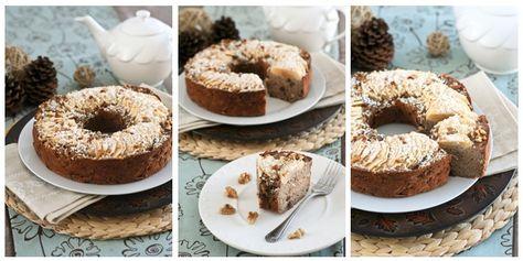 Buckwheat Apple Ring Cake