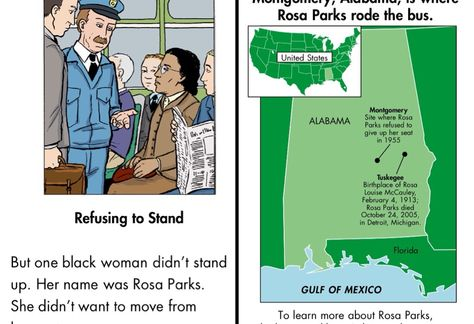 Riding with Rosa Parks app - a free app to help continue the discussion about the Civil Rights movement with kids.
