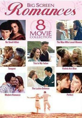 Big Screen Romances - 8-Movie Set - No Small Affair - The Man Who Loved Women - Tempest - This is My Father - Violets Are Blue - Modern Romance - The Luzhin Defence - Perfect - Default
