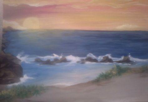 Kelliene Ackley - unfinished landscape