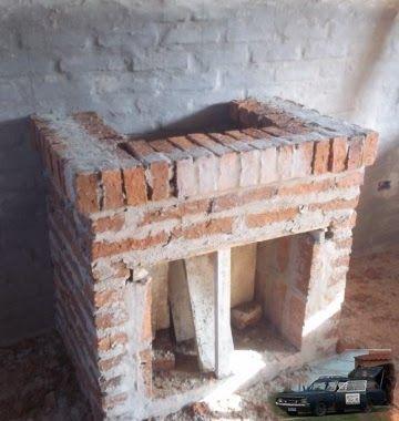 Como Construir Estufas La Estufa Más Rapida Chimeneas De Ladrillo Chimeneas Chimeneas De Obra