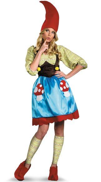 Ms Gnome Costume Gardens, Garden gnomes and Gnome costume