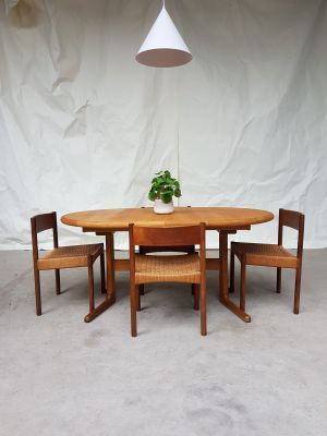 Vintage Danish Dining Table 1980s For Sale At Pamono Danish