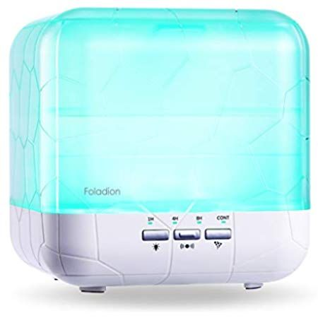 Foladion Smart Atherische Ole Diffuser Body Induction Auto Control 1000ml Aromatherapie Luftbefeuchter Ultraschall Vern Aromatherapie Luftbefeuchter Therapie