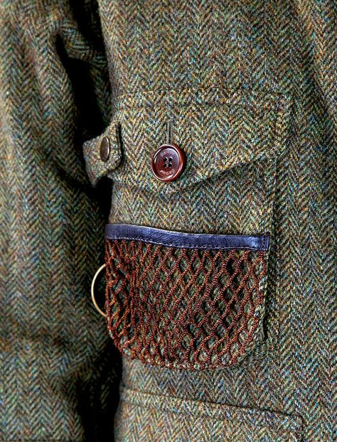 oldfishingphotos:    Barbour Tokito Wool Fishing Jacket    Source: new.wok-store    Time for Tweed    (via thornproof)