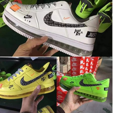 Nike Airforce 1(just do it) | Nike airforce 1, Nike air force, Nike