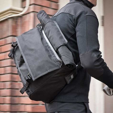 Rummy Roll Top Weatherproof Messenger Bag Via Mission Workshop