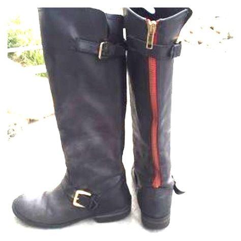 0248d1bed12 List of Pinterest steve madden boots black winter pictures ...
