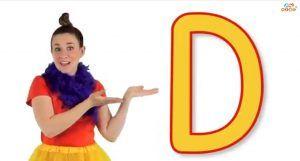 آموزش الفبای انگلیسی برای کودکان حرف D
